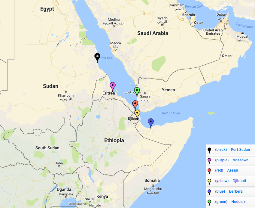 Sudan says Egyptian Red Sea oil and gas blocks are on its