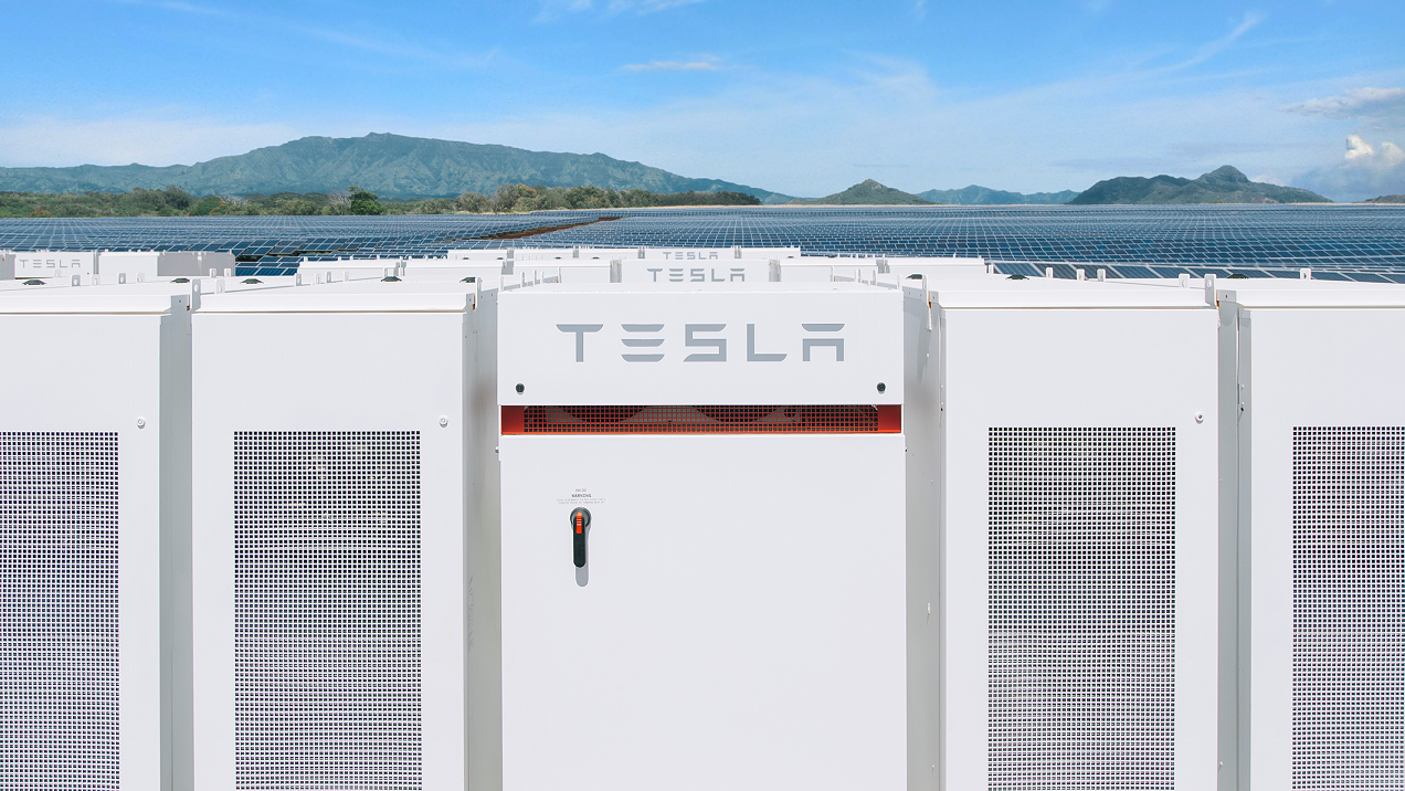 Tesla powerpack (source: Tesla)