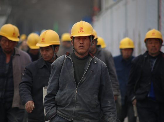 China coal workers